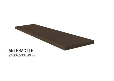 ANTHRACITE-2400x600x40mm+2
