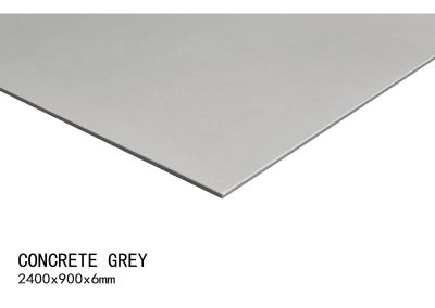 CONCRETE GREY 2400X900X6mm 0
