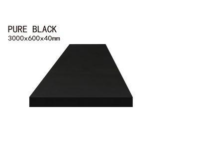 PURE BLACK-3000x600x40mm+3