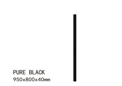 PURE BLACK-950X800X40mm (5)