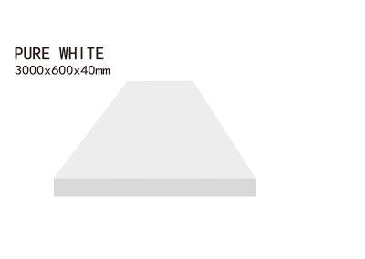 PURE WHITE-3000x600x40mm+3