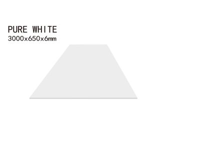 PURE WHITE-3000x650x6mm+3