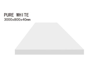 PURE WHITE-3000x800x40mm+3