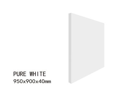 PURE WHITE-950x900x40mm5