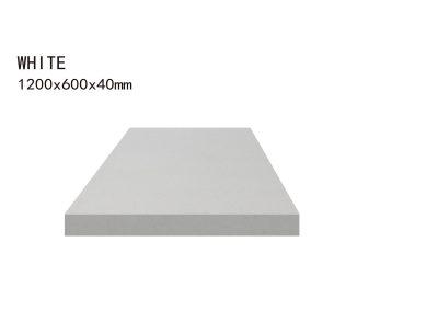 WHITE -1200x600x40mm+3