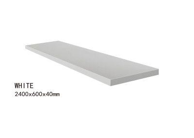 WHITE -2400x600x40mm+2