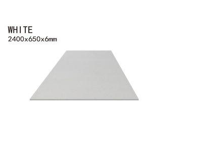 WHITE -2400x650x6mm+3