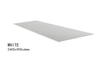 WHITE -2400x900x6mm+2