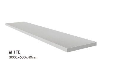 WHITE -3000x600x40mm+2