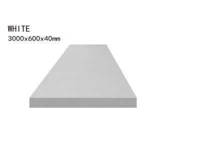 WHITE -3000x600x40mm+3