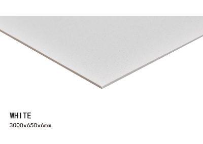 WHITE -3000x650x6mm+1