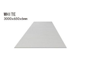WHITE -3000x650x6mm+3