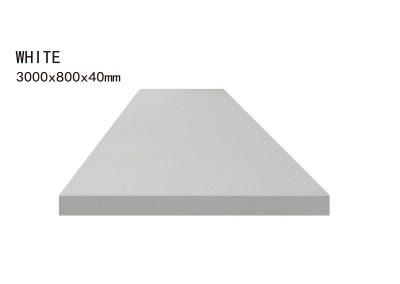 WHITE -3000x800x40mm+3