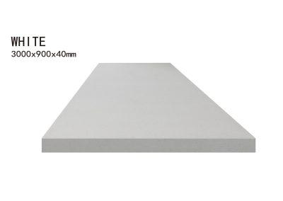 WHITE -3000x900x40mm+3