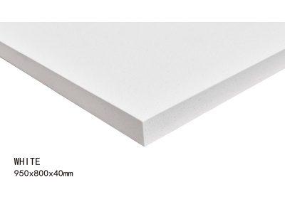 WHITE -950X800X40mm