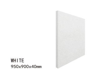 WHITE -950X900X40mm 5