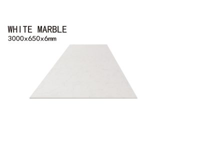 WHITE MARBLE-3000x650x6mm+3