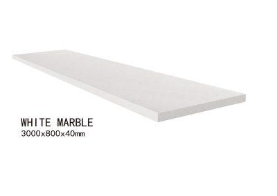 WHITE MARBLE-3000x800x40mm+2