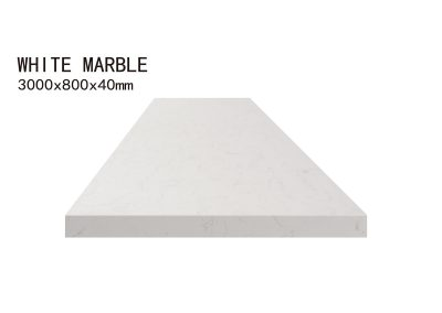 WHITE MARBLE-3000x800x40mm+3
