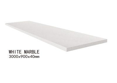WHITE MARBLE-3000x900x40mm+2