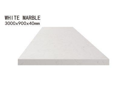 WHITE MARBLE-3000x900x40mm+3