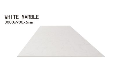WHITE MARBLE-3000x900x6mm+3