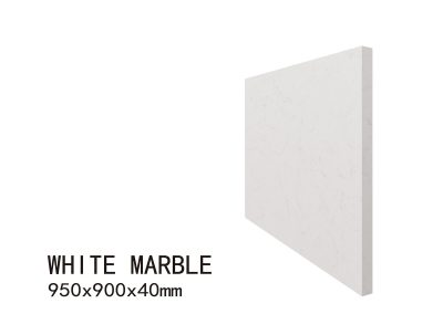 WHITE MARBLE-950X900X40mm 4