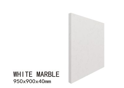 WHITE MARBLE-950X900X40mm 5
